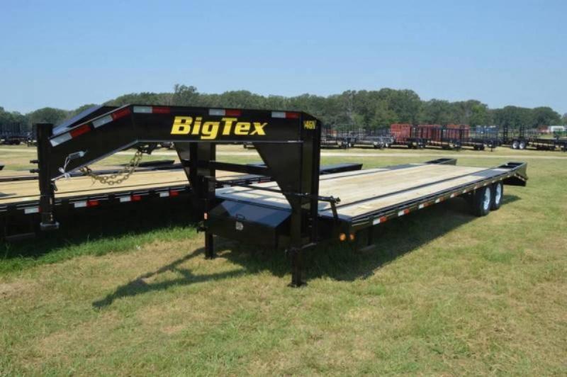 2018 Big Tex 14k 20+5 Gooseneck with Mega Ramps