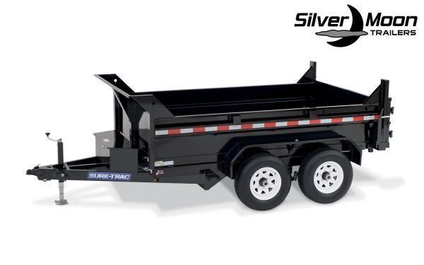 "2020 Sure-Trac 72"" x 12' 10K SD Low Profile Dump Trailer"