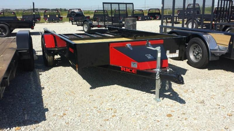 2017 Rice 76 x 12 Utility Stealth Trailer