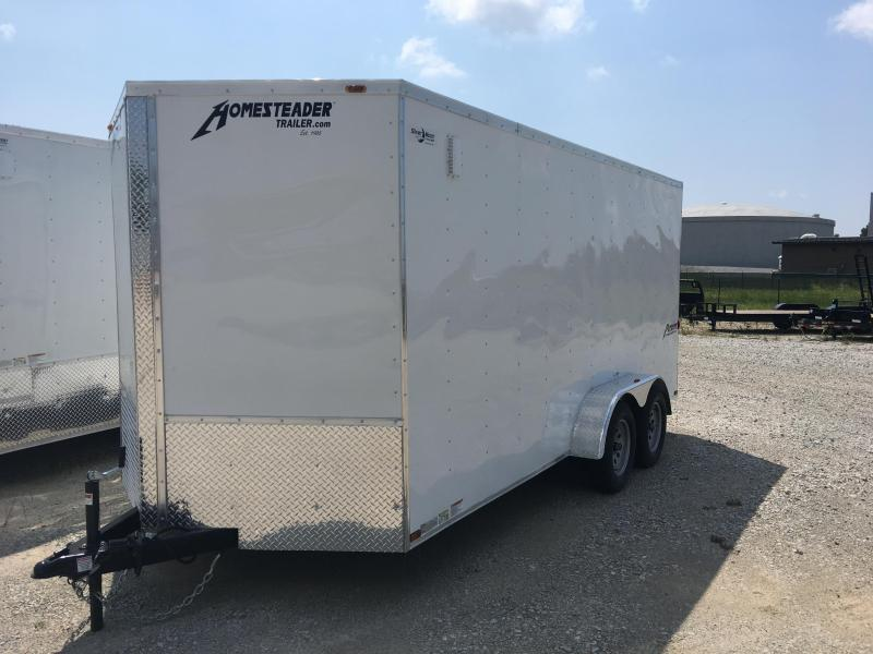 2017 Homesteader Inc. 714PT Enclosed Cargo Trailer