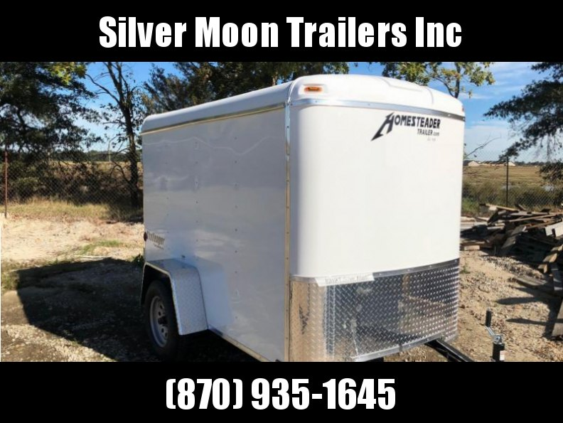 2017 Homesteader Inc. 5x8 Enclosed Cargo Trailer