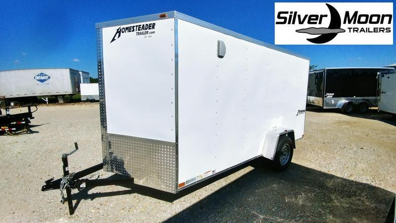 2020 Homesteader 6 x 12 SA Enclosed Cargo Trailer