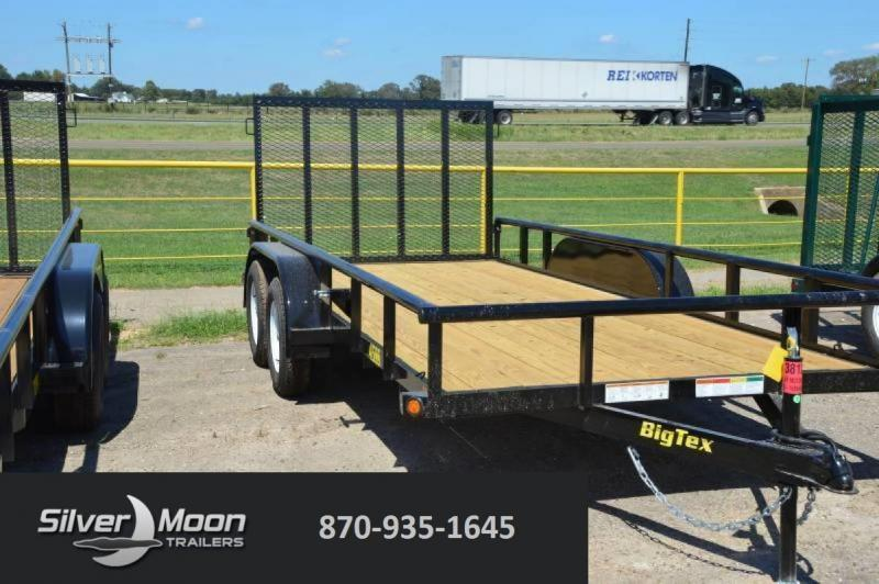 2019 Big Tex 45ss 16' Utility Trailer W/ Gate