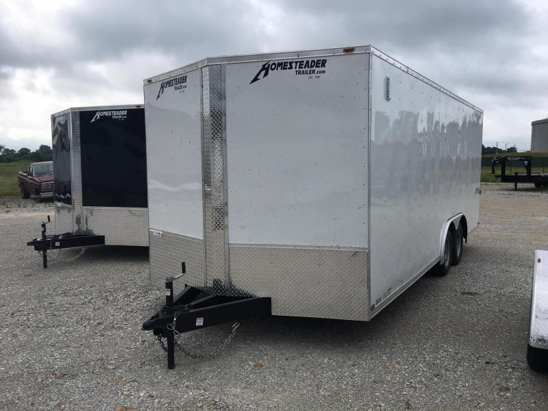 2018 Homesteader Inc. 8.5x20 Enclosed Cargo Trailer
