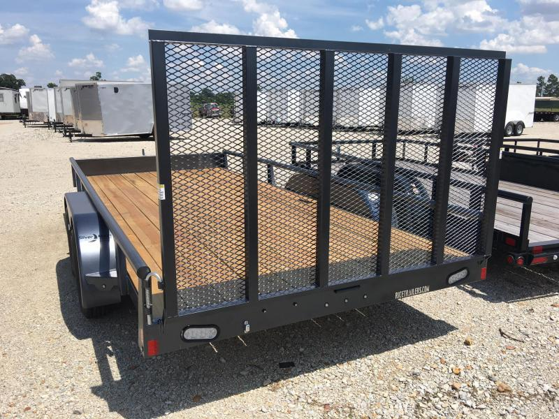 2018 Rice Tandem Axle 6x12 Pipe Trailer