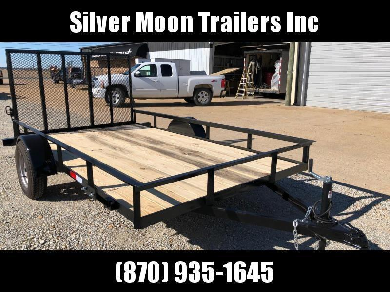 2018 D&d 6x12 Utility Trailer with Gate