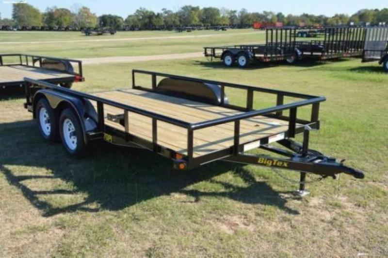 2019 Big Tex 70PI 16' HD Utility Trailer