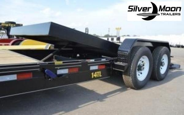 "2020 Big Tex Trailers 14TL 83"" x 22 Tilt Bed Equipment Trailer 16+6"