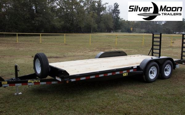 "2019 Big Tex Trailers 83""x20' 10K Equipment Trailer"