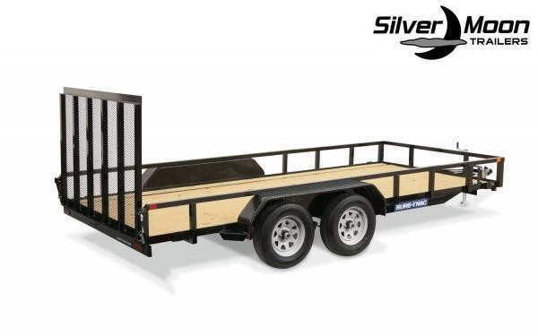 "2020 Sure-Trac 83"" x 16' 7K Tandem Axle Tube Top Utility Trailer"
