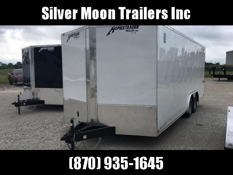 2018 Homesteader 8.5x20 Enclosed Trailer