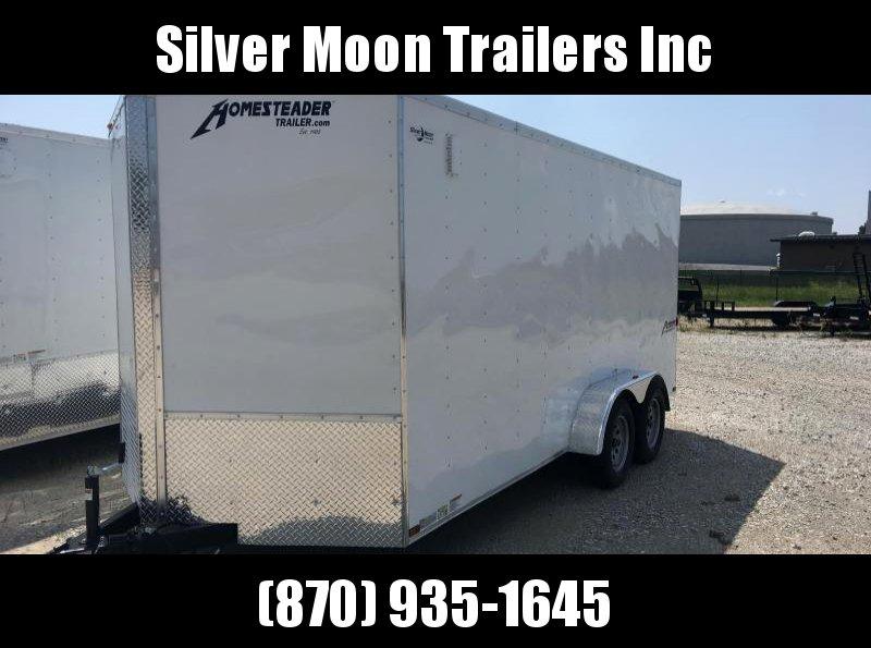 2017 Homesteader Inc. 716PT Enclosed Cargo Trailer