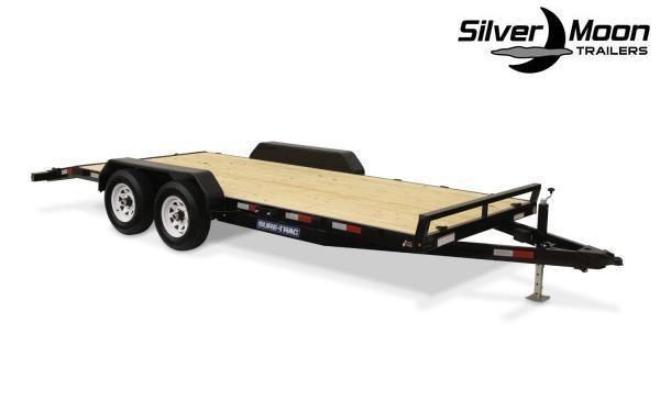 """2019 Sure-Trac 83"""" x 20' 10K Wood Deck Car Hauler"""
