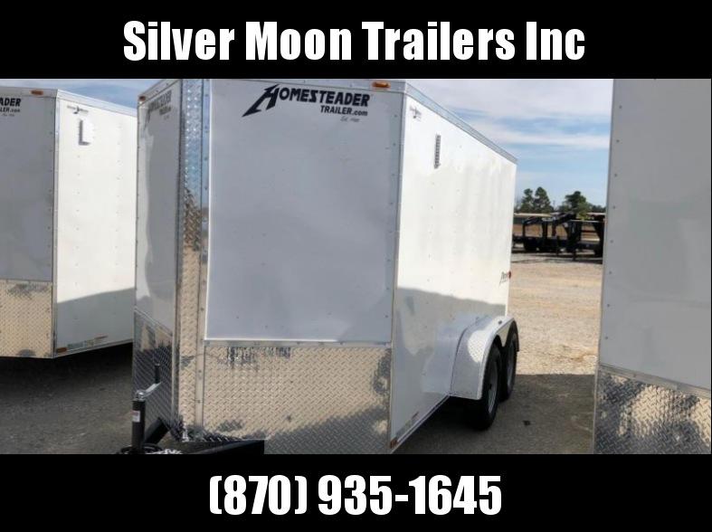 2017 Homesteader 612PT Enclosed Cargo Trailer
