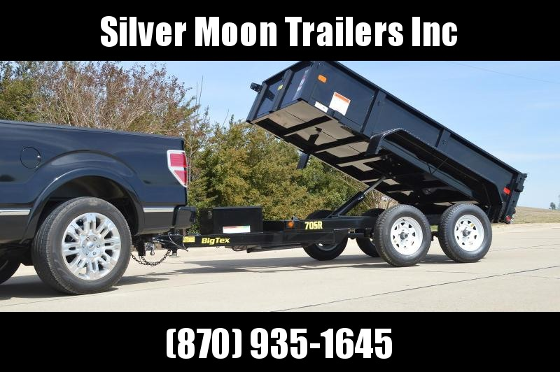 2018 Big Tex 5x10 7k Dump Trailer