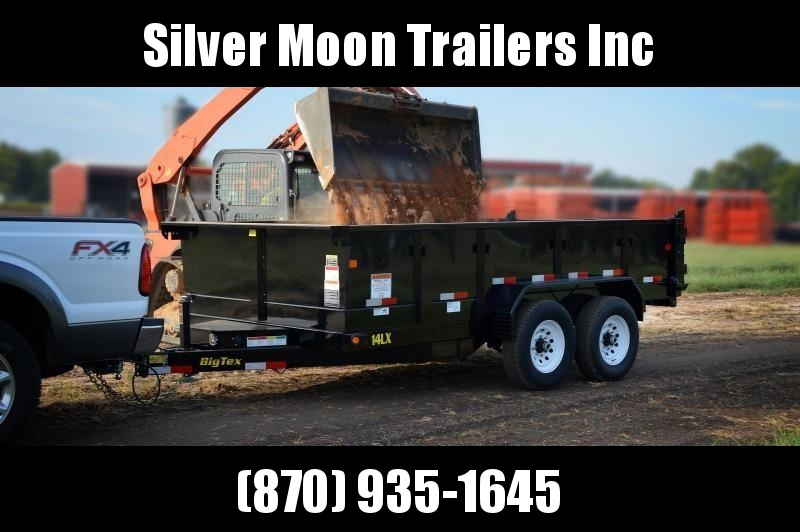 2019 Big Tex 7x14 14k Dump Trailer W/ Hyd Jack