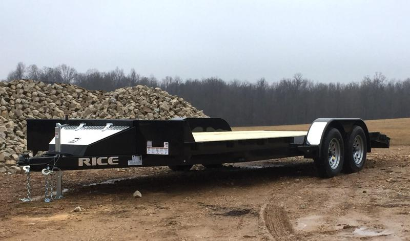 2018 Rice FMCM8220 Flatbed Trailer