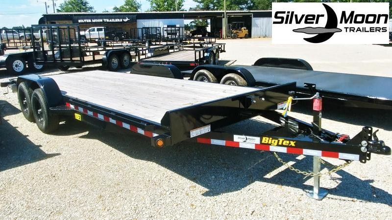 "2019 Big Tex Trailers 83"" x 20 10K Equipment Trailer"
