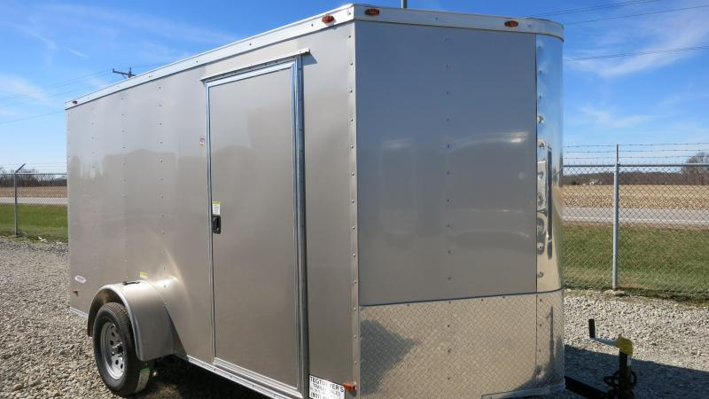 Freedom Trailers 6x12 Enclosed Trailer w/ Ramp Door - RV Door