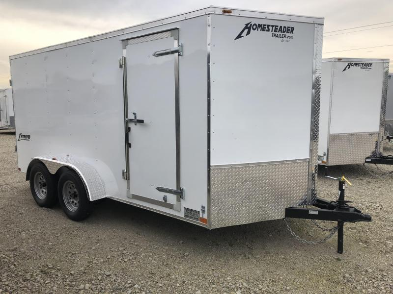 Homesteader 7x14 Enclosed Trailer w/ Double Rear Doors