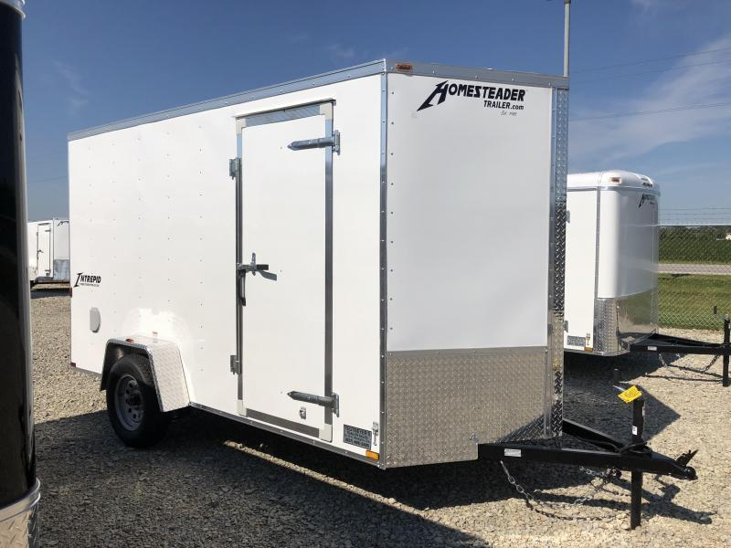 Homesteader Trailers 6x10 Enclosed Trailer w/ Ramp Door