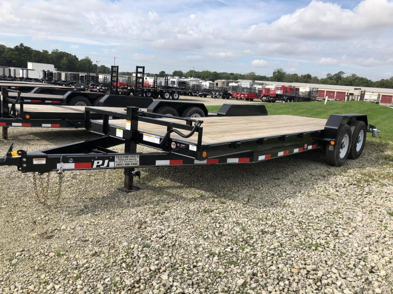 PJ Trailers 22' Equipment Trailer w/ Ramps