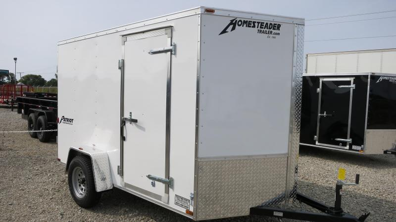 Homesteader Trailers 6x10 Enclosed Trailer w/ Double Doors