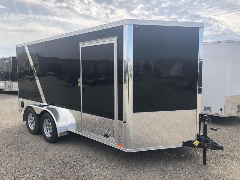 United Trailers 7x12 Enclosed Trailer XLMTV w/ Ramp Door - Motorcycle Trailer
