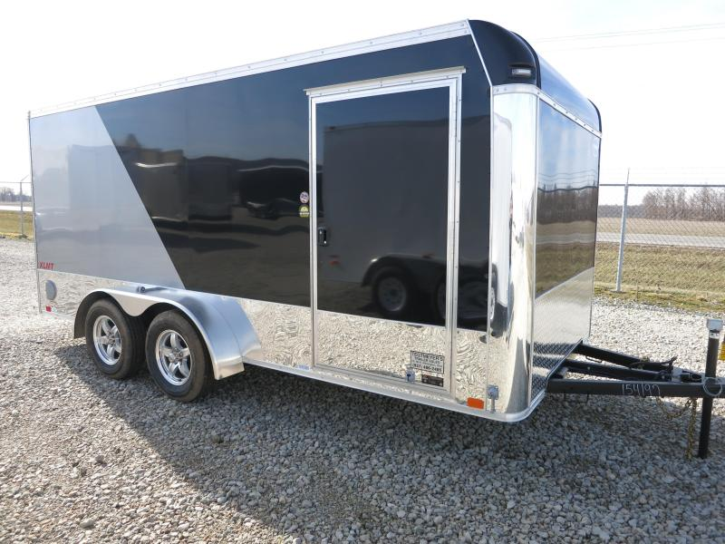 United Trailers 7x16 Enclosed Trailer XLMT w/ Ramp Door - Motorcycle Trailer