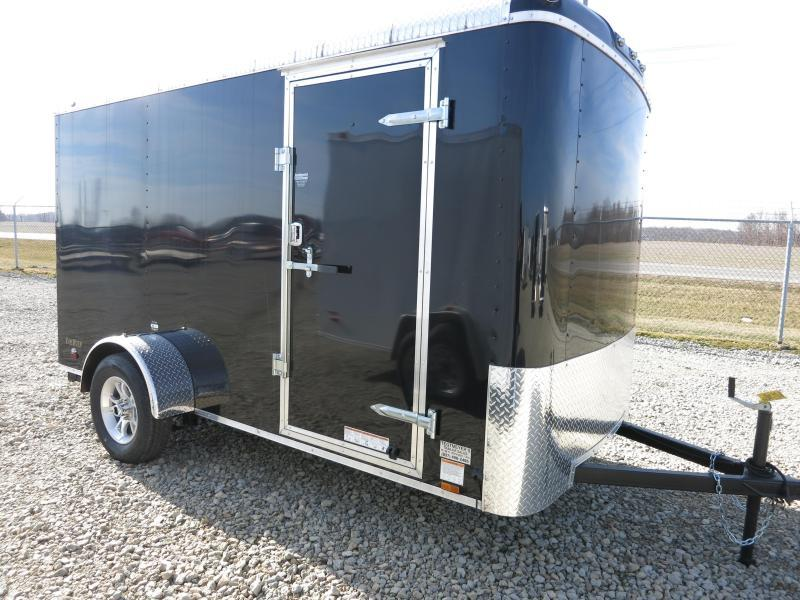 Continental Cargo 6X12 Enclosed Trailers W/ Ramp Door - Polished Corners