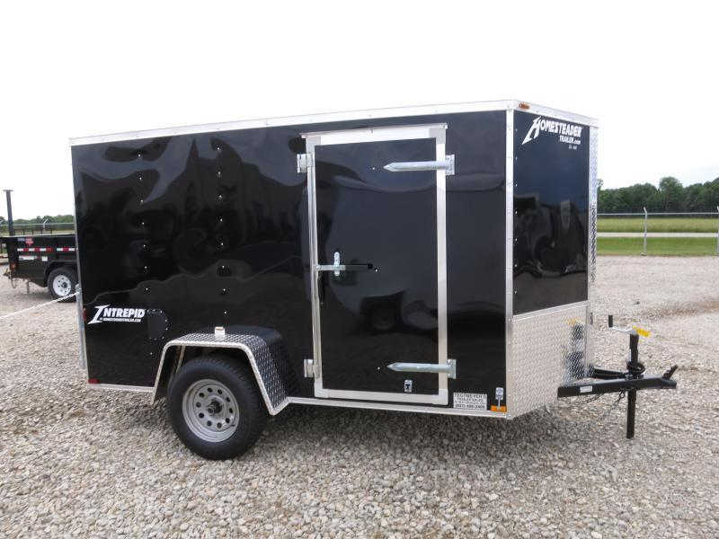 Homesteader 5x10 SA Enclosed Trailer w ramp door