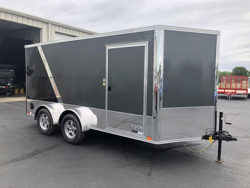United 7x14 Tandem Axle XLMTV Enclosed Trailer