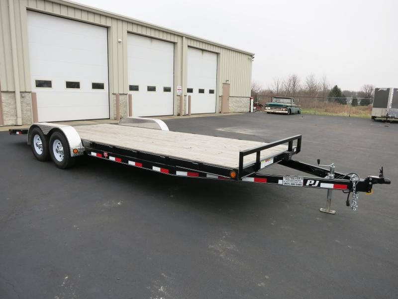 Used PJ 22' Flatbed Trailer