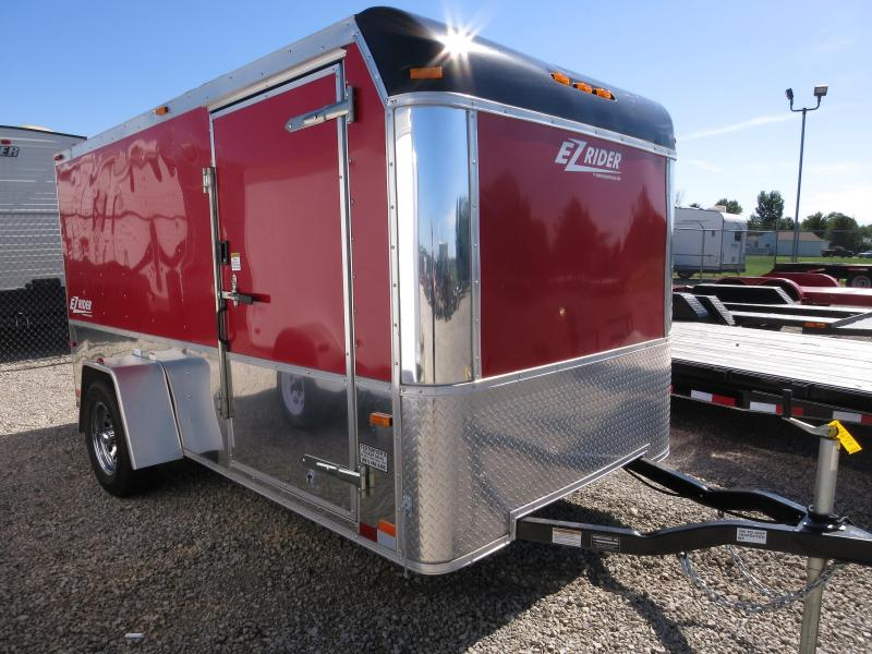Used 6x12 Enclosed Trailers - Low Hauler