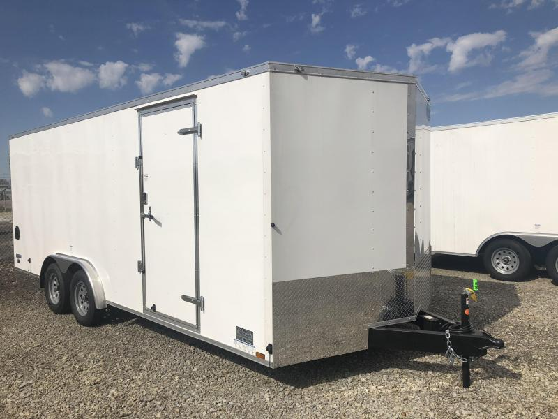 Continental Cargo 8.5X20 Tandem Axle Enclosed Trailer W/ Rear Double Door