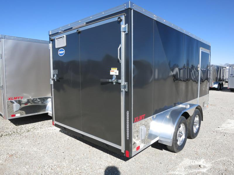 United Trailers 7x14 Motorcycle Trailer w/ Ramp Door - XLMT