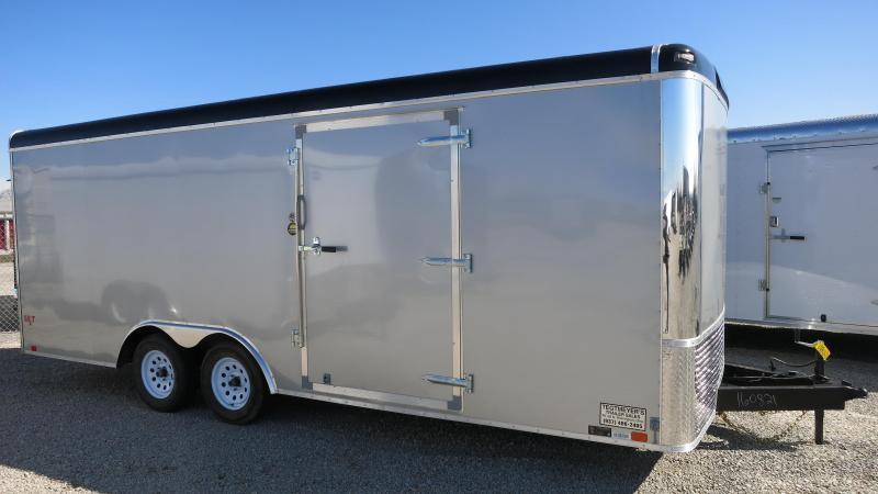 United Trailers 8.5 x 20 ULT Enclosed Trailer w/ Ramp Door - Screwless Sides - Polished Corners - LED Lights