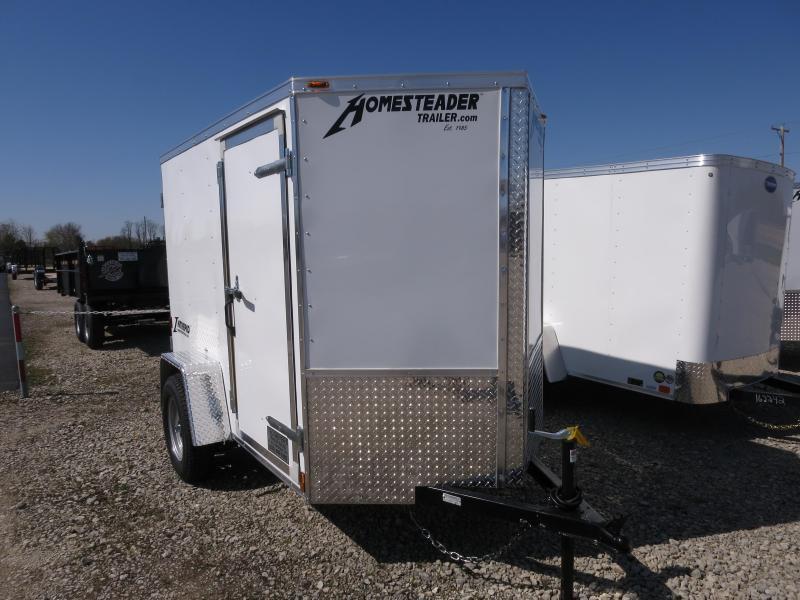 Homesteader Trailers 5x8 SA Trailer w single rear door