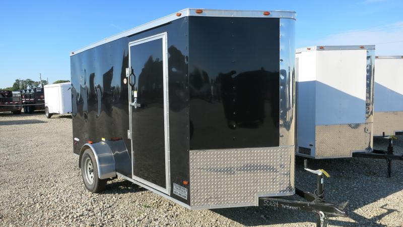 Freedom Trailers 6x12 Enclosed Trailer w/ Ramp Door