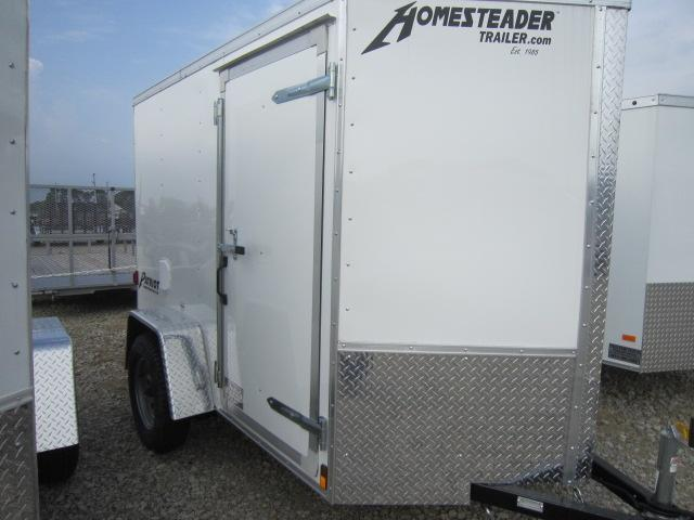 Homesteader Trailers 5x8 Enclosed Trailer w/ Single Rear Door