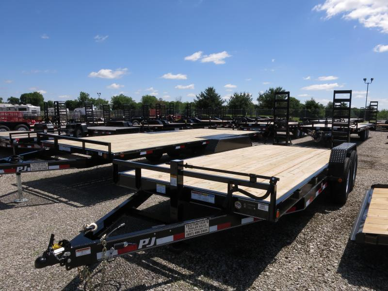 PJ Trailers 18' Equipment Trailer w/ Ramps