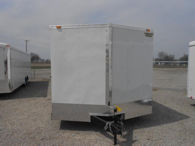 Continental Cargo 8.5X24 Enclosed Trailer W/ Ramp Door - Roof Vent - D rings
