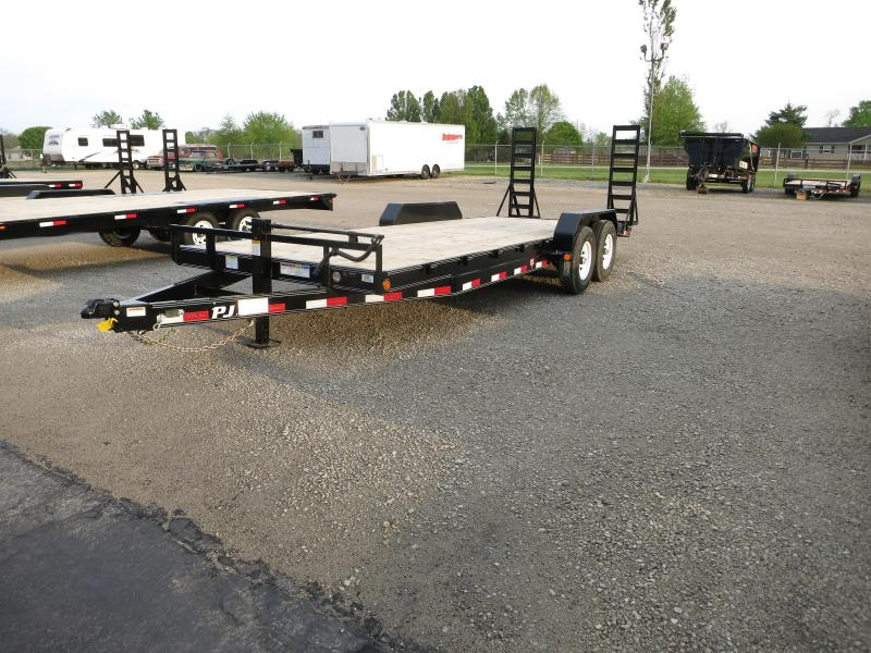 PJ Trailers 22' Equipment Trailer