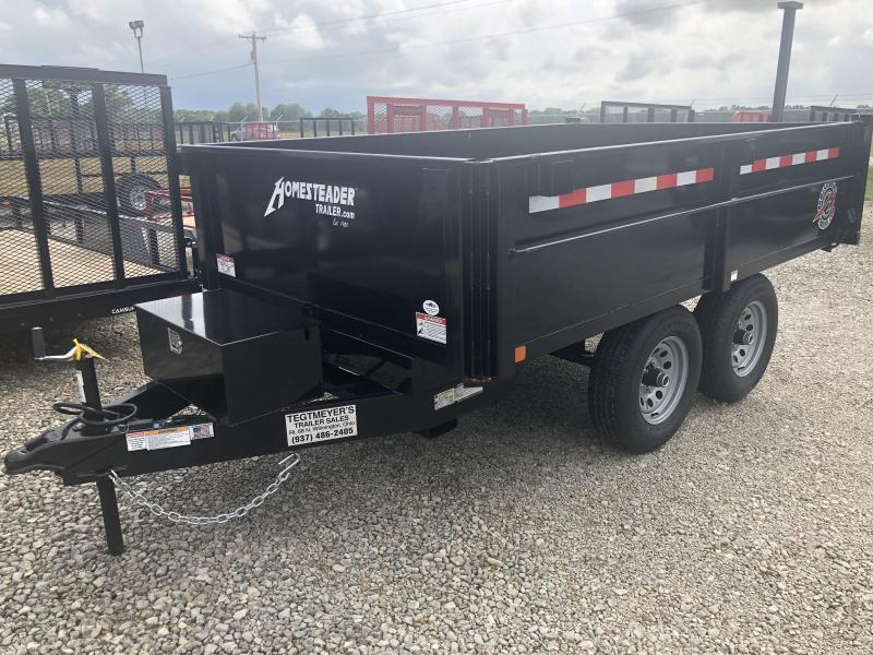 Homesteader Trailers - 6x10 Dump Trailer