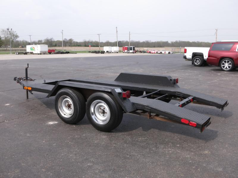 used 13' Open Car Hauler