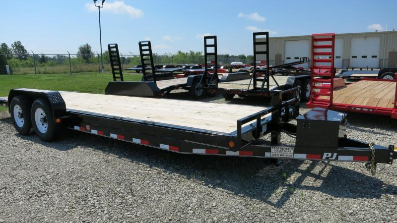 PJ Trailers 22 Equipment Trailer - Tiltbed