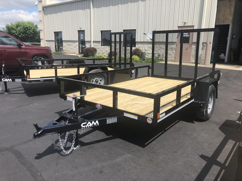 Cam Superline Trailers  6x10 Utility w/ gate