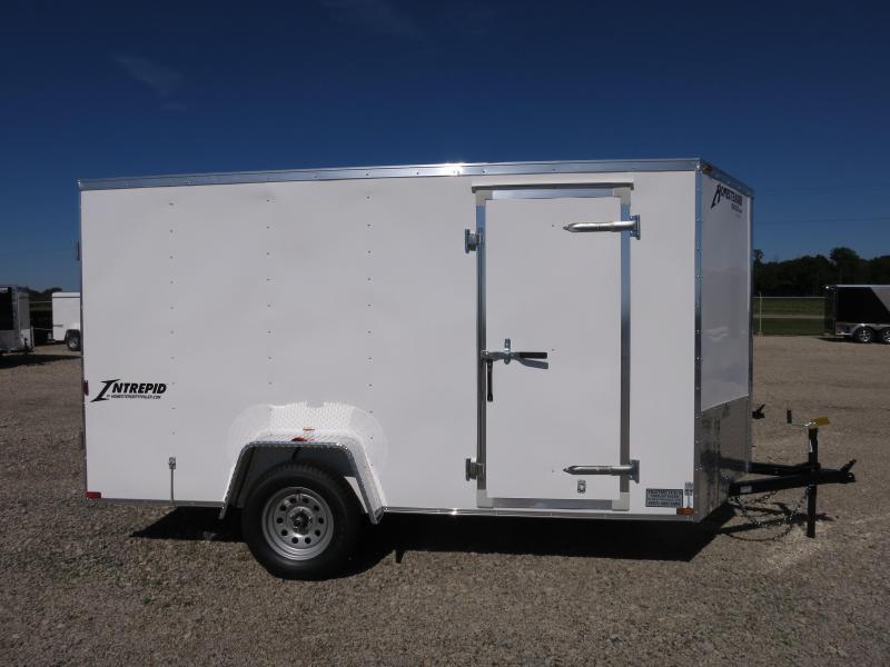 Homesteader 6x12 SA Enclosed Trailer Double Rear Doors