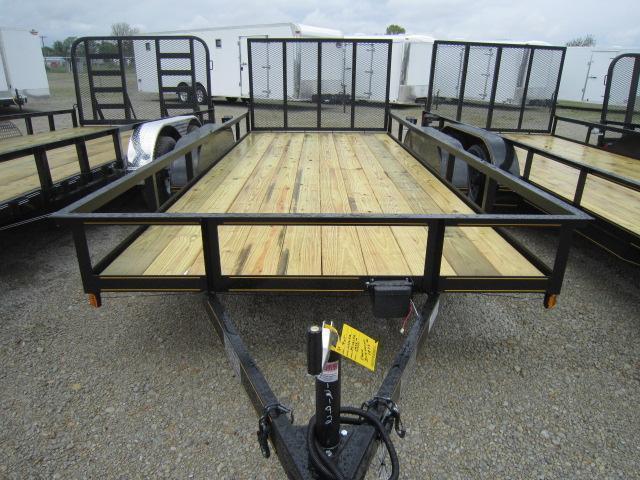 6x16 Utility Trailers w/ Gate - 7000 GVW - Brake