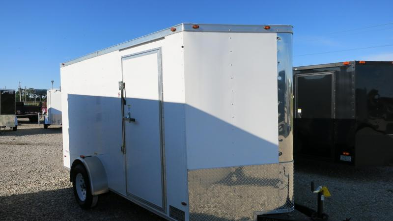 Freedom Trailers 6x12 Enclosed Trailer w/ Double Doors